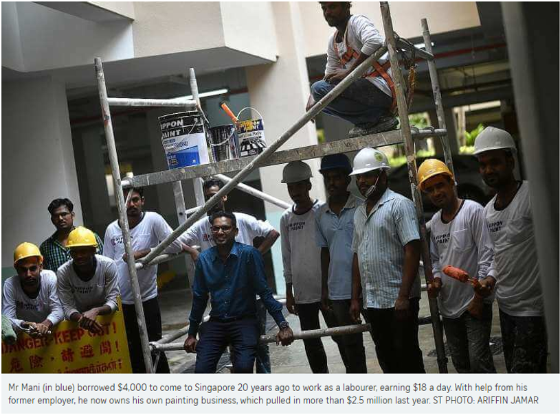 Straits Times  l  Migrant Worker Goes from Painting Condos to Boss of Own Company.jpg.png